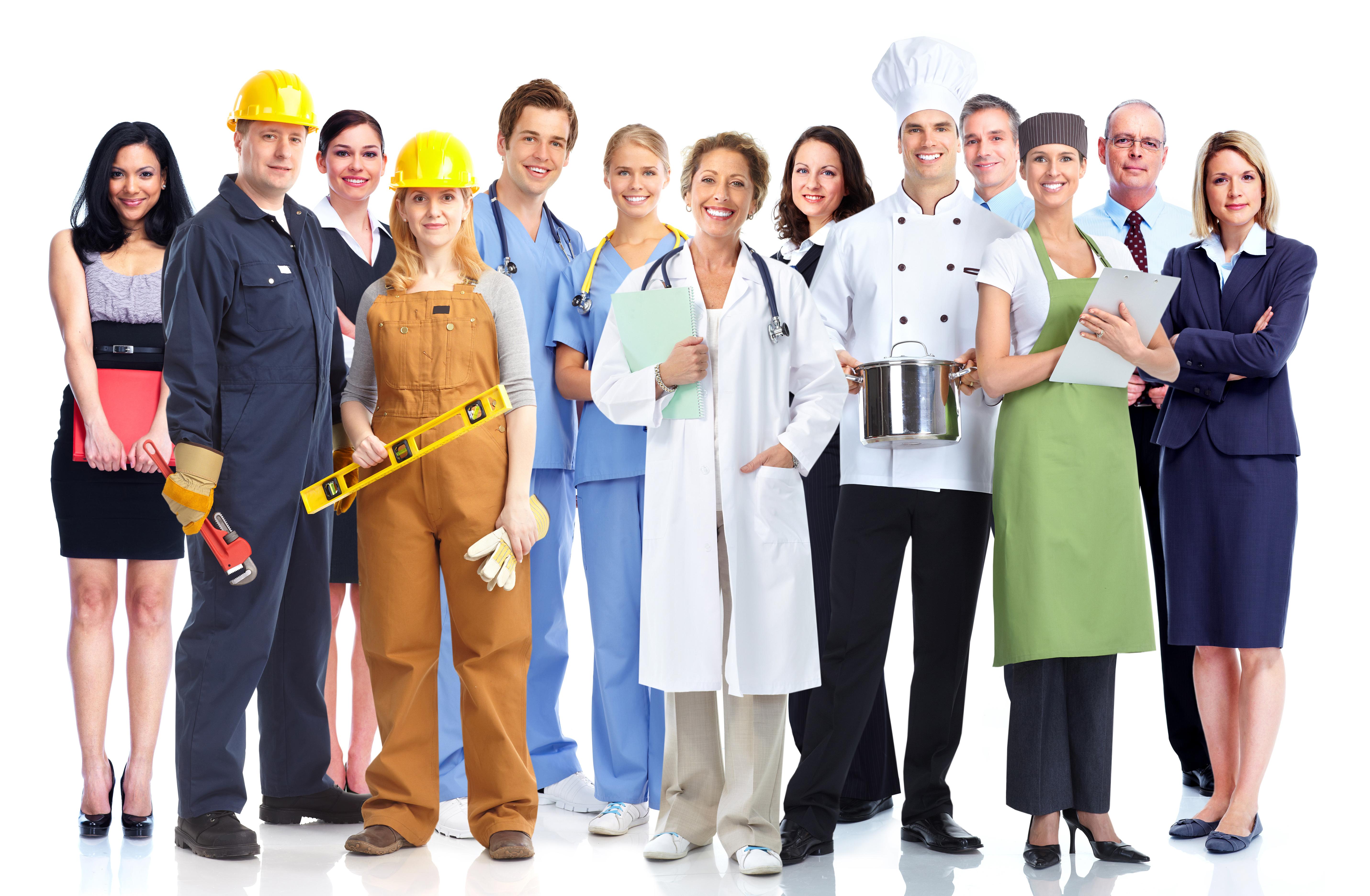 Gruppe von Dienstleistern Bild: Adobe Stock