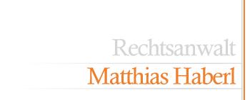 Rechtsanwaltskanzlei Matthias Haberl