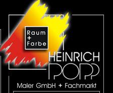 Heinrich Popp Maler GmbH + Fachmarkt
